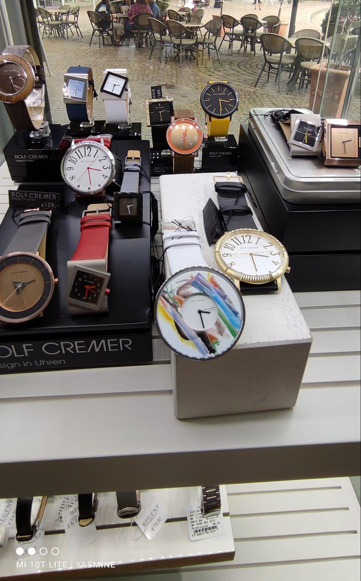 Uhrensortiment von Rolf Cremer